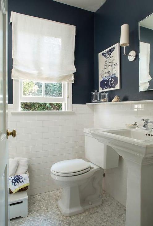 navy blue bathroom-1