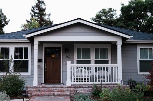 Medium gray house