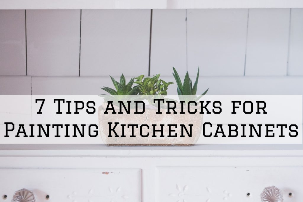 7 Tips and Tricks for Painting Kitchen Cabinets in Omaha, NE