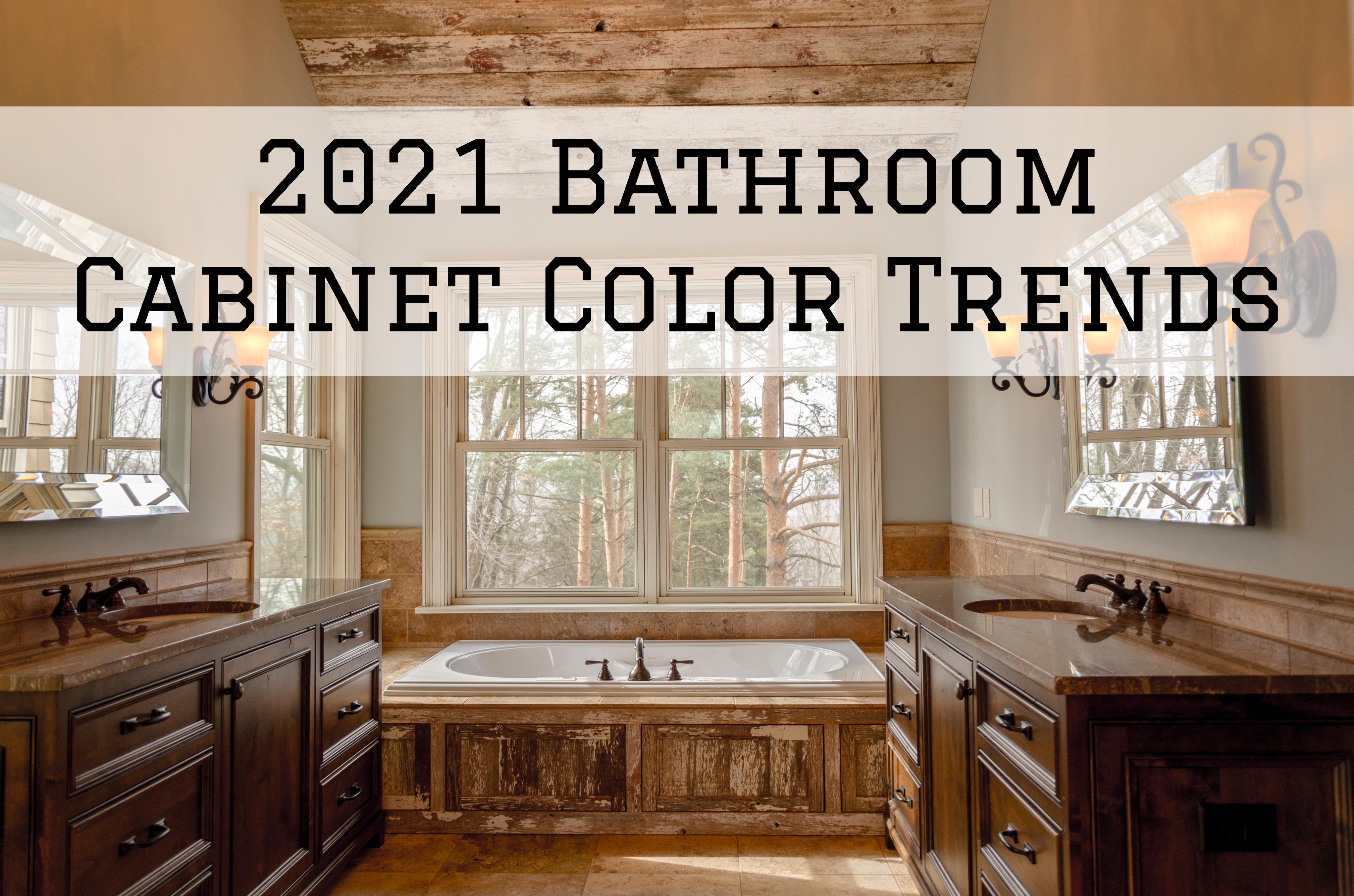 2021 Bathroom Cabinet Color Trends in Omaha, NE