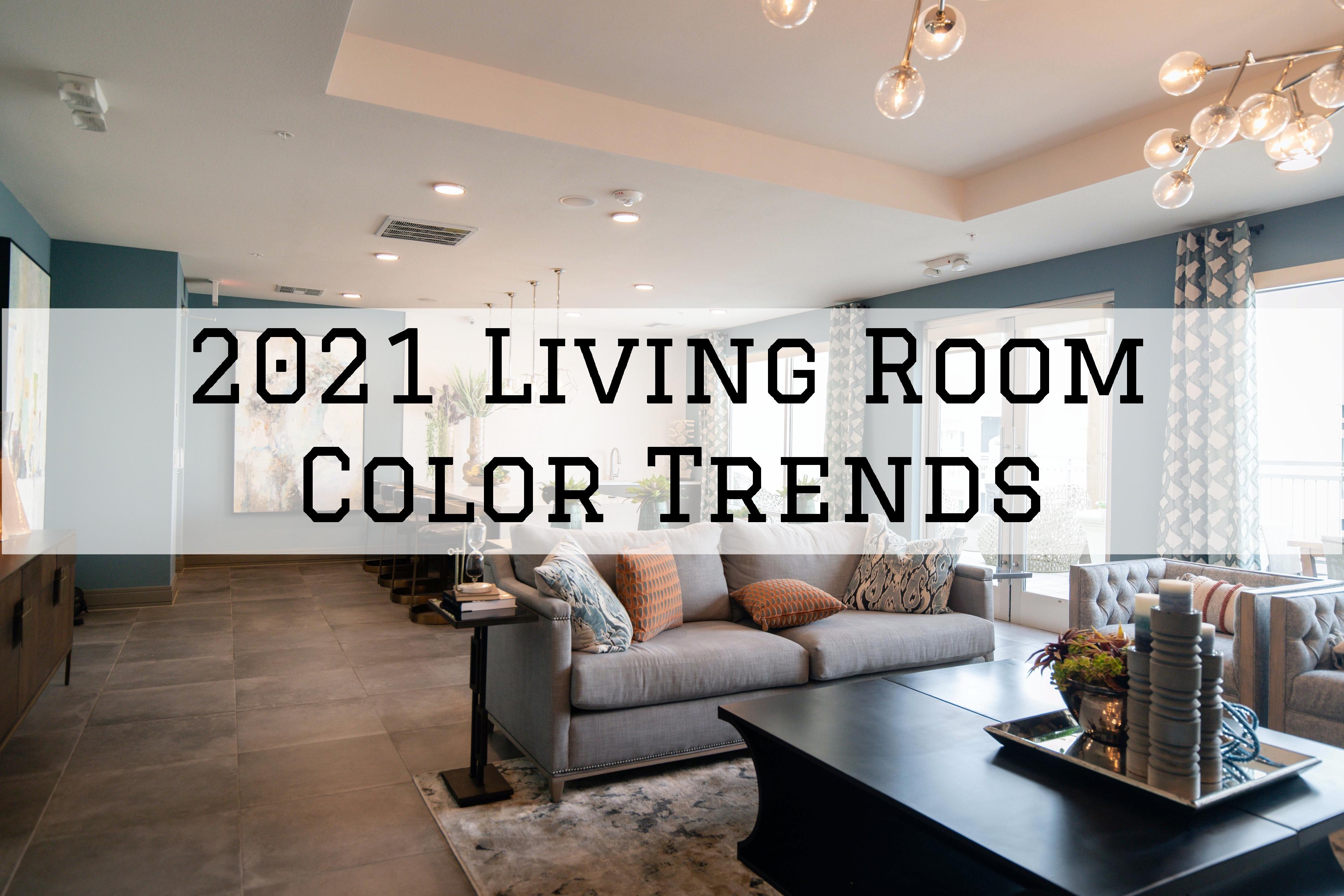 2021 Living Room Color Trends in Omaha, NE