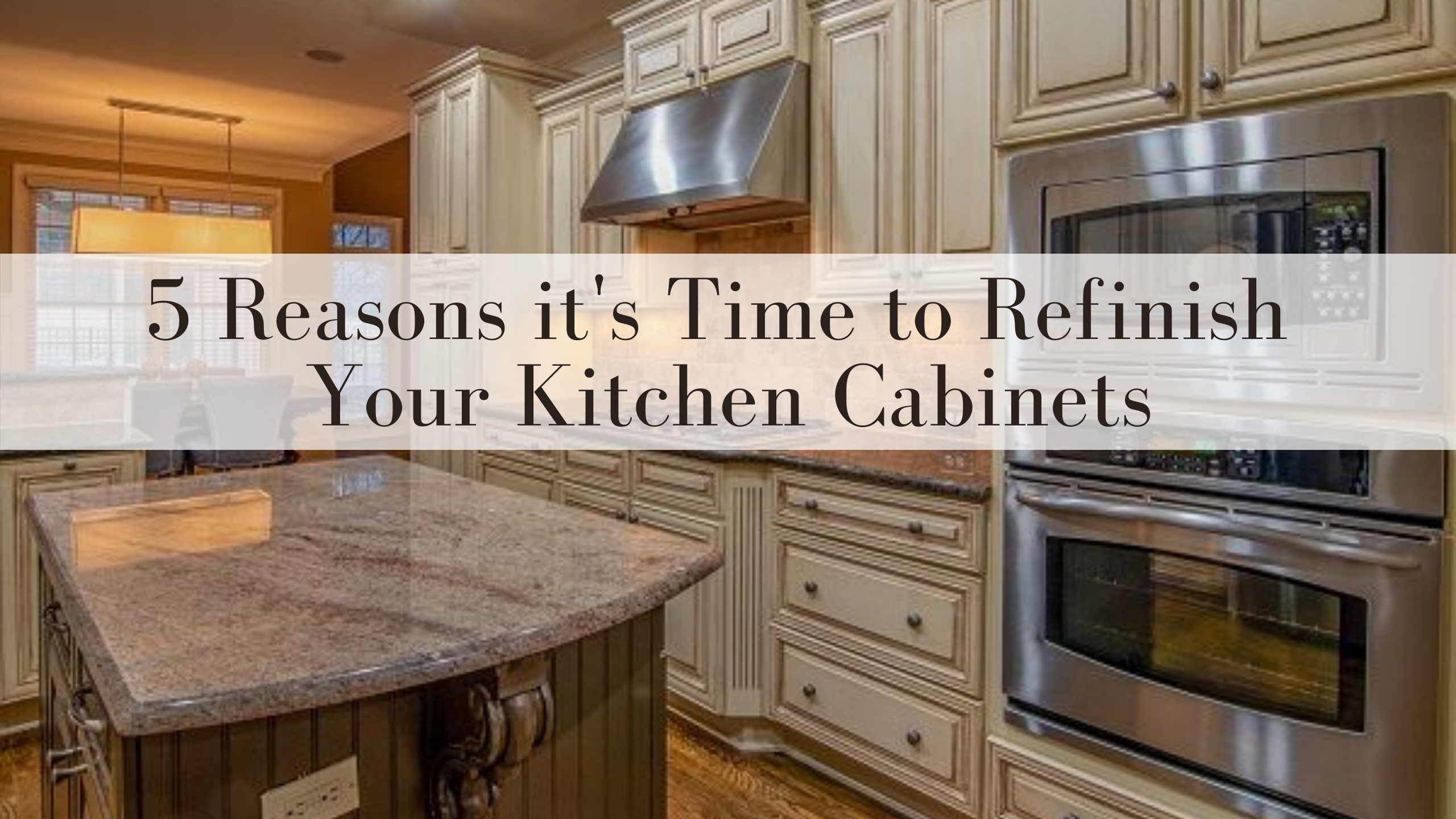 5 Reasons it's Time to Refinish Your Kitchen Cabinets in Omaha, NE
