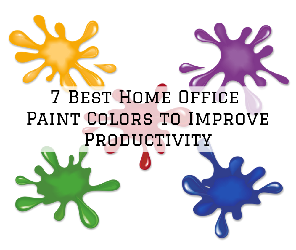 7 Best Home Office Paint Colors to Improve Productivity