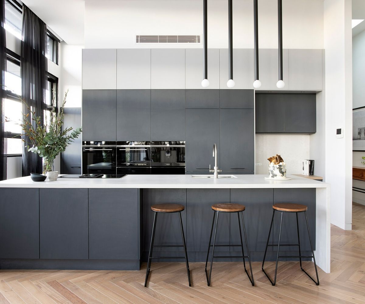 Best Gray Paint Colors for Kitchen Cabinets